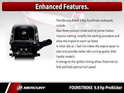 2018 Mercury Marine® FourStroke 9 9 HP ProKicker Base