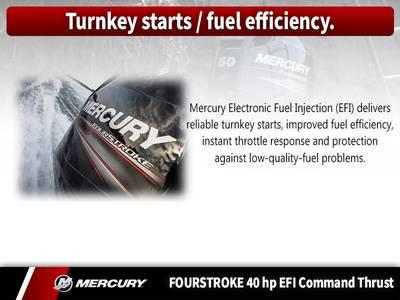 2018 Mercury Marine® FourStroke 40 HP EFI Command Thrust